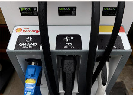 Shell Euro Ev Charging Station