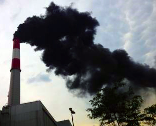 Dirty Power Plant Emissions