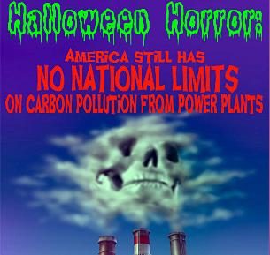 Halloween Pollution Horror