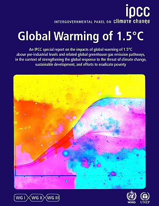 Ipcc Report Cover 2018