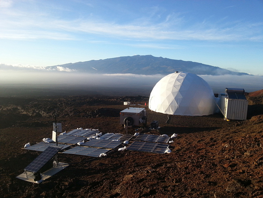 Mars Habitat On Mk