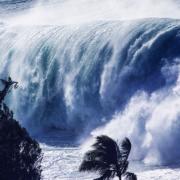 Hi Wave Crash